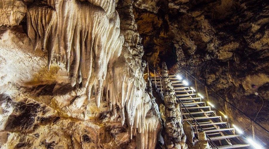 Азишская пещера ©Фото пресс-службы администрации Краснодарского края