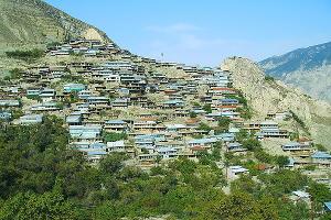 Селение Анчих в Дагестане ©Фото с сайта wikimedia.org