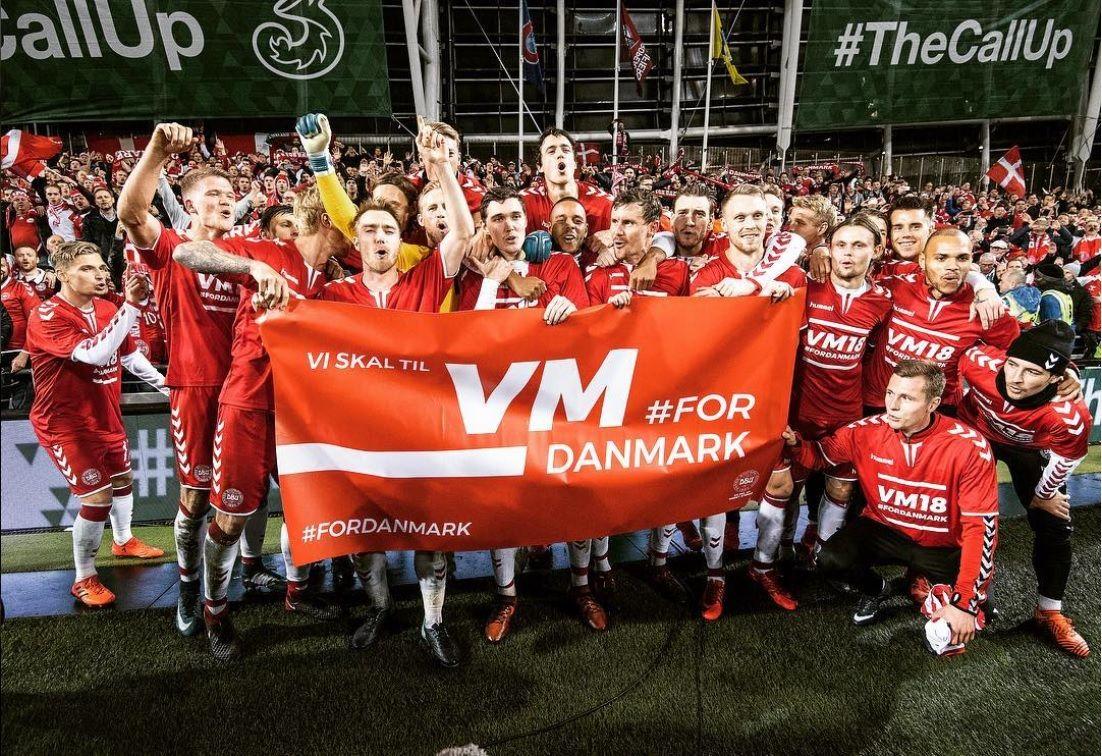 Сборная Дании будет базироваться вАнапе вовремяЧМ