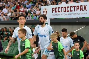 ФК «Краснодар» проиграл «Зениту» со счетом 0:2 ©Фото Елены Синеок, Юга.ру