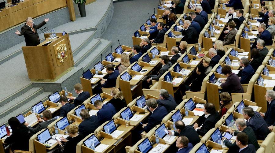 ©Фото пресс-службы Государственной Думы РФ
