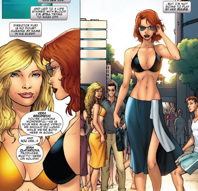 ©Скриншот из комикса The Avengers Prelude: Black Widow Strikes