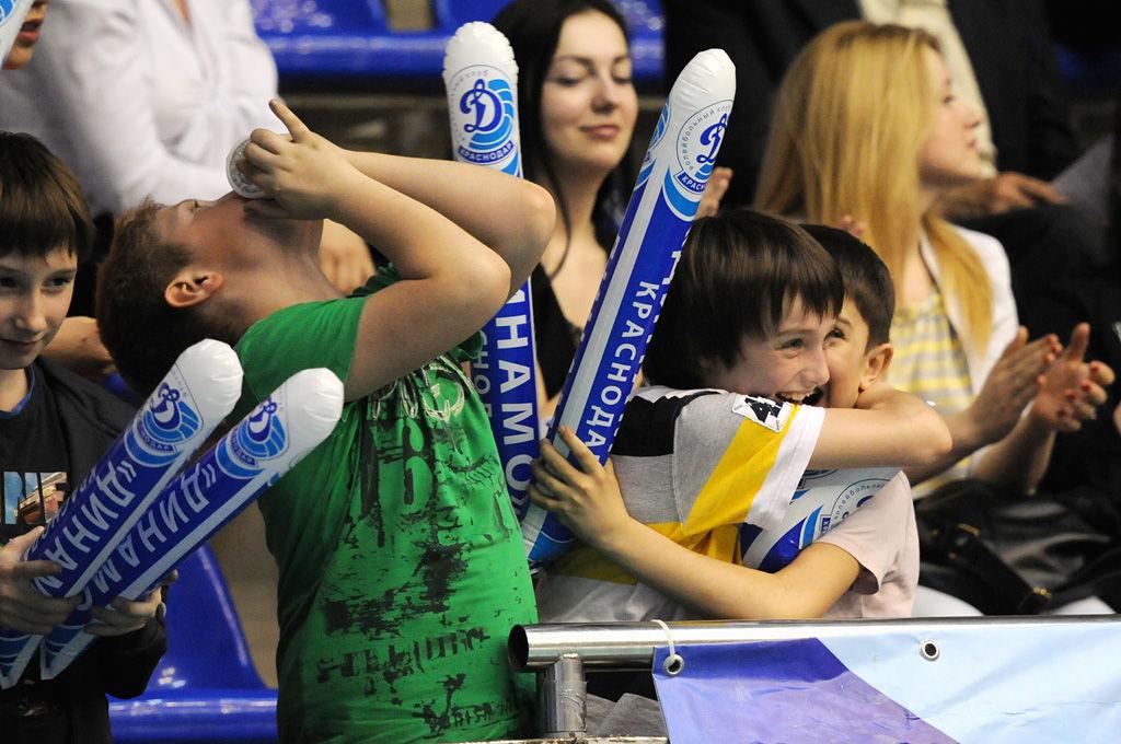 Краснодарское «Динамо» вышло втретий раунд волейбольнойЛЧ