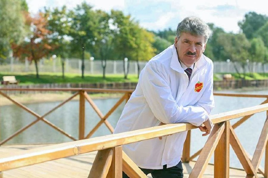 Павел Грудинин ©Фото из группы vk.com/kprf