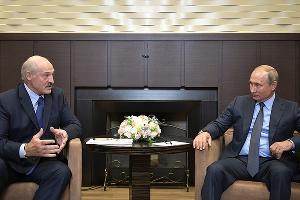 Александр Лукашенко и Владимир Путин ©Фото с сайта kremlin.ru