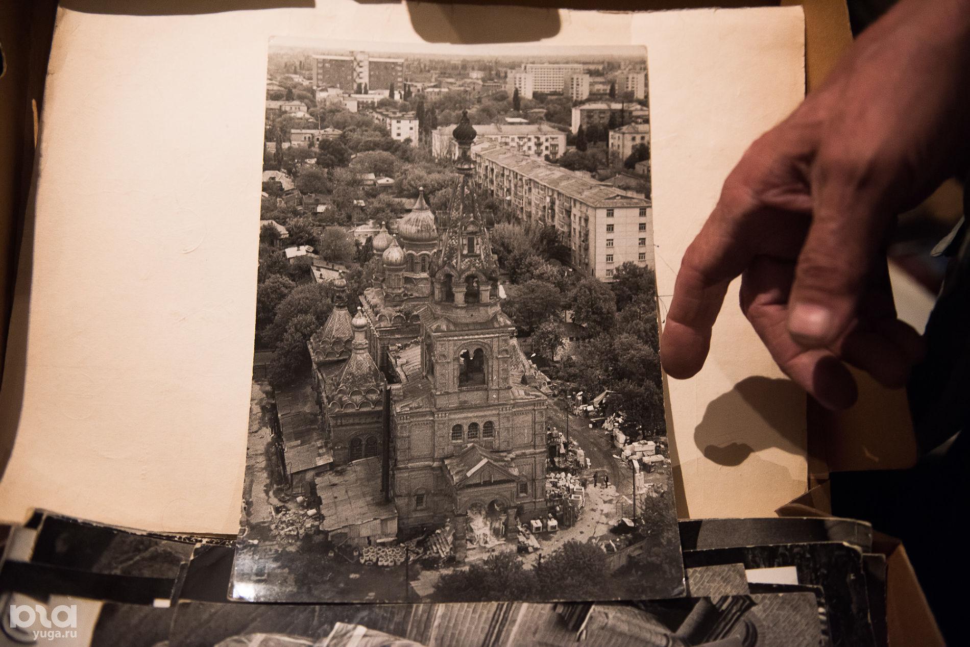 Свято-Троицкий храм в конце 1980-х гг. ©Фото Елены Синеок, Юга.ру