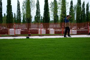 Строительство парка у стадиона ФК «Краснодар» ©Фото Дмитрия Леснова, Юга.ру