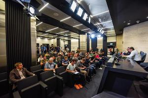 Пресс-конференция с Сергеем Галицким ©Елена Синеок, ЮГА.ру